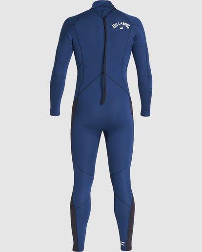2 302 Furnace Absolute Back Zip Gbs Ls Fullsuit Blue 9707811 Billabong