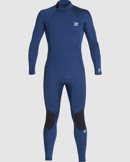 1 302 Furnace Absolute Back Zip Gbs Ls Fullsuit Blue 9707811 Billabong