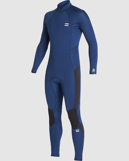 0 302 Furnace Absolute Back Zip Gbs Ls Fullsuit Blue 9707811 Billabong