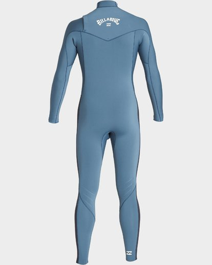 2 302 Furnace Revolution Chest Zip Ls Fullsuit Blue 9707820 Billabong