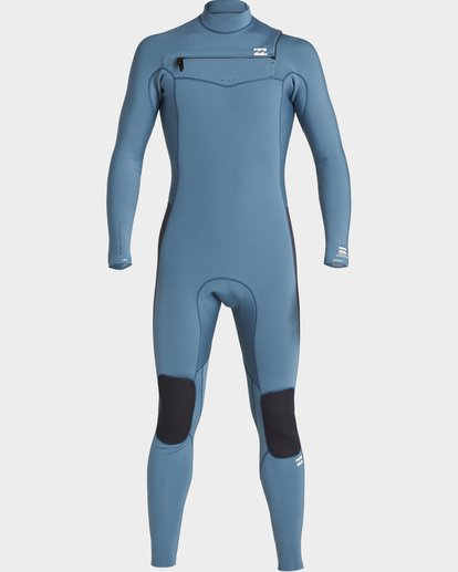 1 302 Furnace Revolution Chest Zip Ls Fullsuit Blue 9707820 Billabong