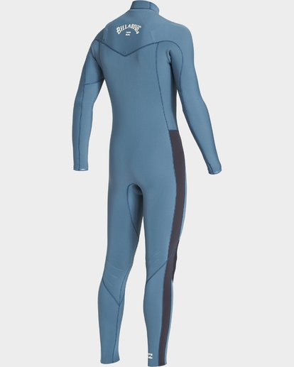 3 302 Furnace Revolution Chest Zip Ls Fullsuit Blue 9707820 Billabong