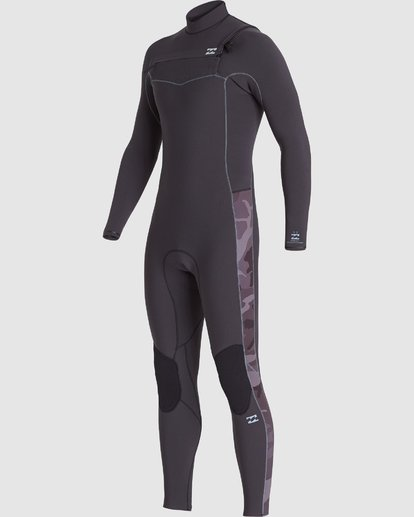 0 302 Revolution Pro Long Sleeve Fullsuit Black 9707901 Billabong