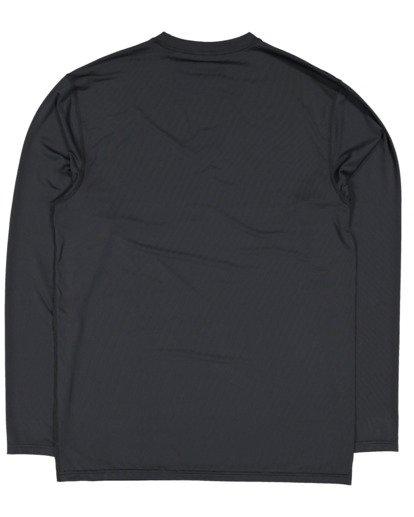 5 Single Arch Loose Fit Long Sleeve Rash Vest Black 9713013 Billabong