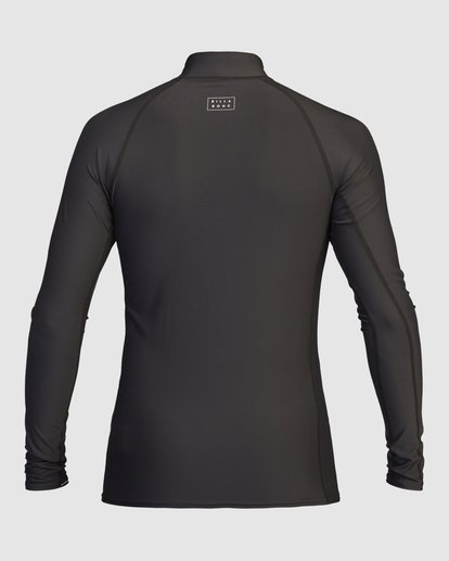 1 All Day Wave Performance Fit Long Sleeve Rashguard Black 9713016 Billabong