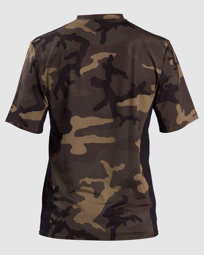 1 Arch Mesh Short Sleeve Rashguard Camo 9717004 Billabong