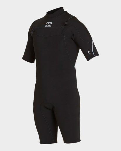 0 PRO SERIES 202 CHEST ZIP SPRING SUIT Black 9771490 Billabong