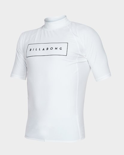 1 ALL DAY UNITED PERFORMANCE FIT RASH VEST White 9781001 Billabong