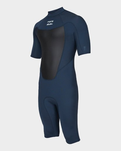 0 Absolute 202 Back Zip Spring Suit Grey 9781400 Billabong