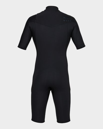 2 REVOLUTION CHEST ZIP SPRING SUIT Black 9781420 Billabong