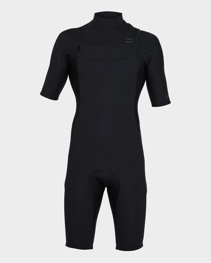 1 REVOLUTION CHEST ZIP SPRING SUIT Black 9781420 Billabong