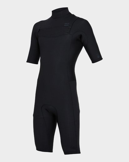 0 REVOLUTION CHEST ZIP SPRING SUIT Black 9781420 Billabong