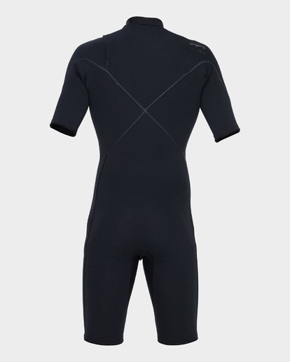 2 Pro Series 202 Chest Zip Spring Suit Black 9781490 Billabong