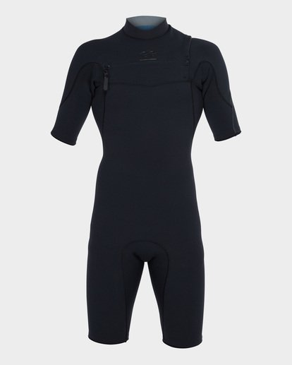 1 Pro Series 202 Chest Zip Spring Suit Black 9781490 Billabong