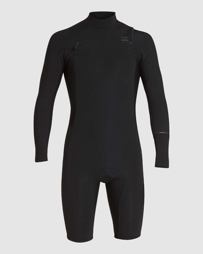 4 REVOLUTION 202 CHEST ZIP SPRING SUIT Black 9781520 Billabong