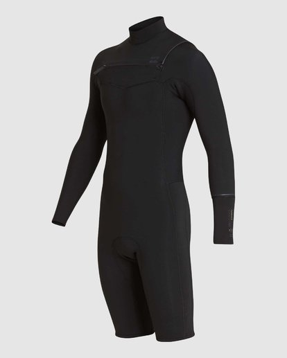 0 REVOLUTION 202 CHEST ZIP SPRING SUIT Black 9781520 Billabong