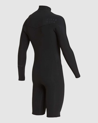 3 REVOLUTION 202 CHEST ZIP SPRING SUIT Black 9781520 Billabong
