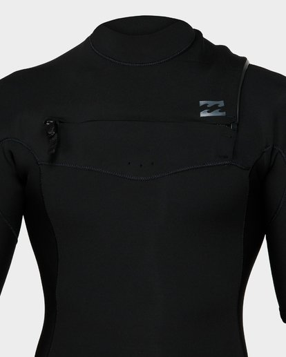 3 202 Revolution Chest Zip Short Sleeve Gbs Springsuit Camo 9791420 Billabong