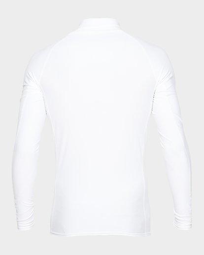 2 UNION RF LONG SLEEVE RASH VEST White 9791502 Billabong