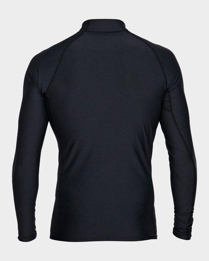 2 Unity Pf Long Sleeve Rash Vest Black 9791504 Billabong