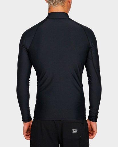 5 Unity Pf Long Sleeve Rash Vest Black 9791504 Billabong