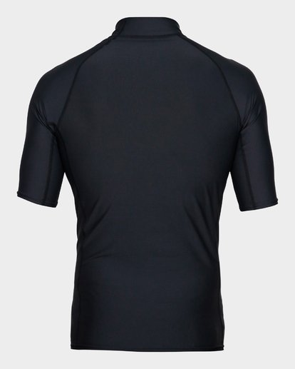 2 Unity Pf Short Sleeve Rash Vest Black 9791505 Billabong
