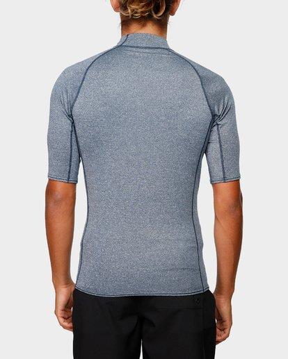 2 Unity Pf Short Sleeve Rash Vest Blue 9791505 Billabong