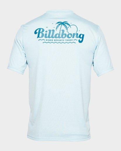 2 Beach Script Lf Ss Blue 9791506 Billabong