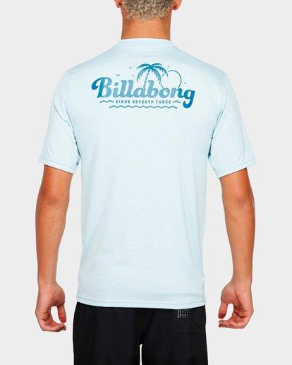 5 Beach Script Lf Ss Blue 9791506 Billabong