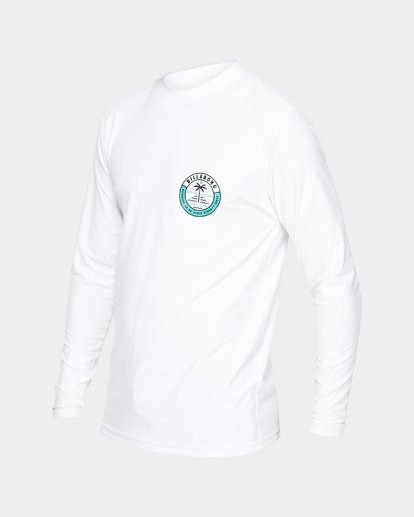 1 SEA SHORE LF LS White 9791507 Billabong