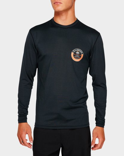 3 SEA SHORE LF LS Black 9791507 Billabong