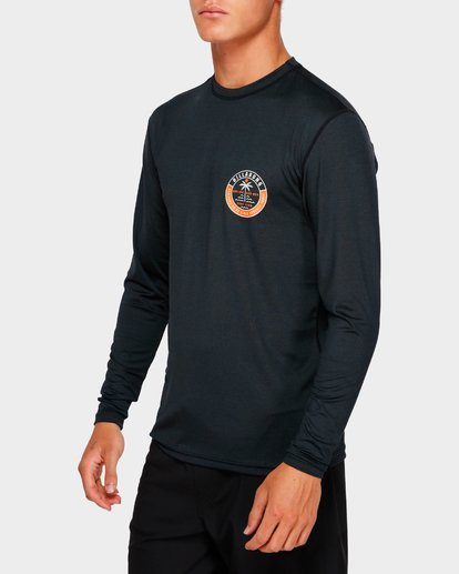 4 Sea Shore Lf Ls Black 9791507 Billabong