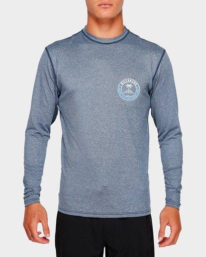 3 SEA SHORE LF LS Blue 9791507 Billabong