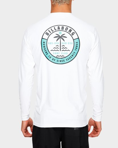 5 SEA SHORE LF LS White 9791507 Billabong
