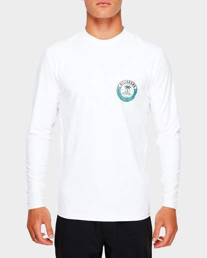 3 SEA SHORE LF LS White 9791507 Billabong