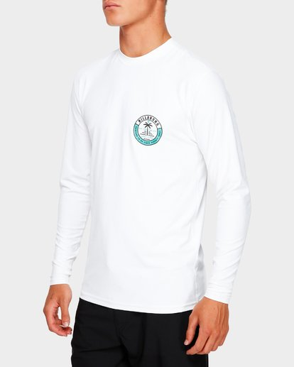4 SEA SHORE LF LS White 9791507 Billabong