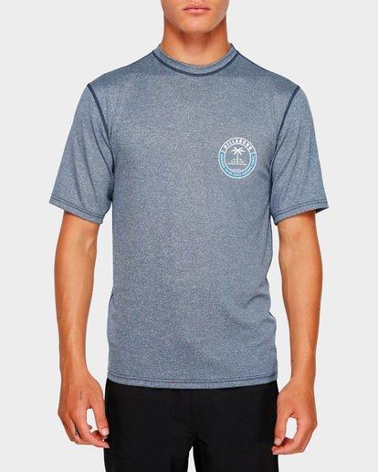 3 SEA SHORE LF SS Blue 9791508 Billabong