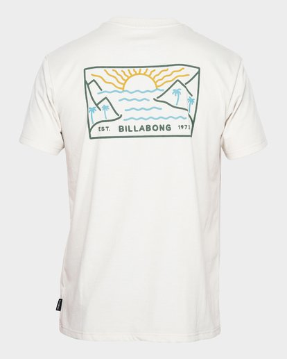 2 BEACH PATH SURF TEE Brown 9791510 Billabong