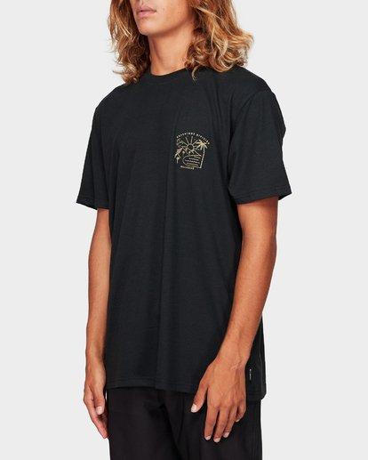 1 Matara Upf 50 Surf Tee Black 9792508 Billabong