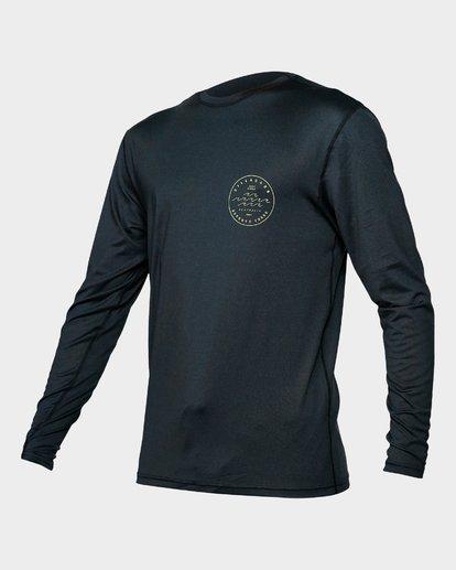 1 Wavy Davy Lf Long Sleeve Black 9792512 Billabong