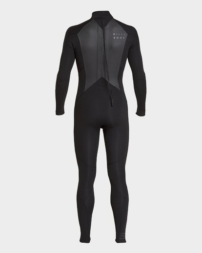 1 FURNACE 302 BACK ZIP FULL SUIT Black 9793816 Billabong
