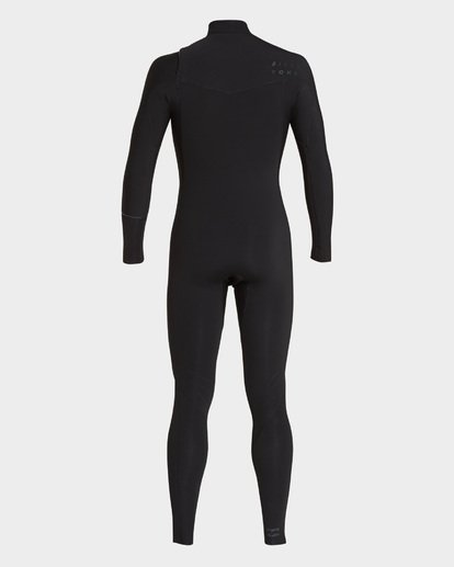 2 FURNACE REVOLUTION 202 CHEST ZIP FULL SUIT Black 9793819 Billabong