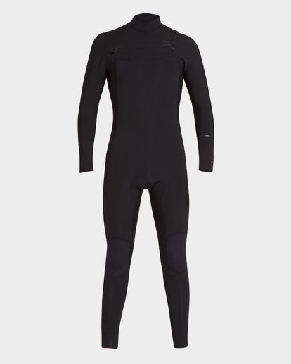 1 FURNACE REVOLUTION 202 CHEST ZIP FULL SUIT Black 9793819 Billabong