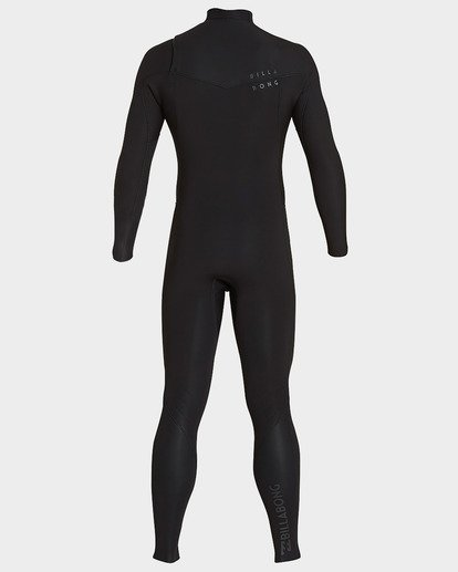 2 302 Furnace Revolution Chest Zip Full Suit Black 9793820 Billabong