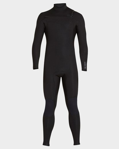 1 FURNACE 302 CHEST ZIP FULL SUIT Black 9793820 Billabong