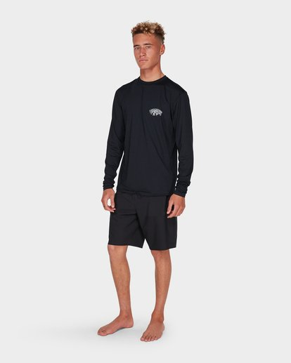 6 SPACE STORM LS SU Black 9795001 Billabong