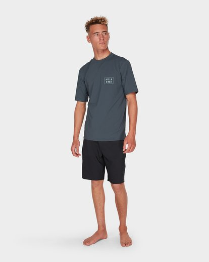 6 WARP CUT SS SURF Grey 9795005 Billabong