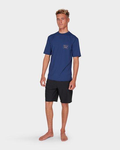 6 WARP CUT SS SURF Blue 9795005 Billabong