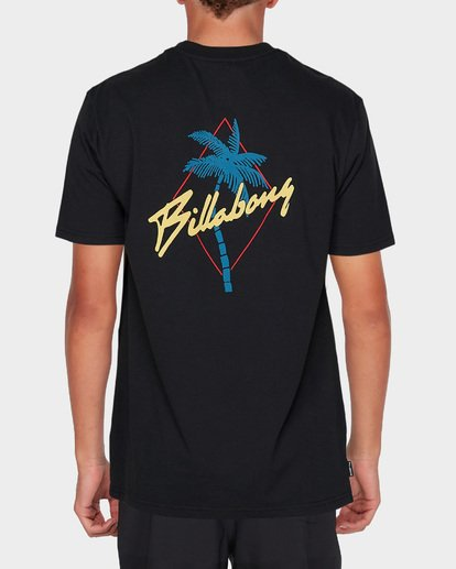 2 PALMA SHORT SLEEVE SURF SHIRT Black 9795007 Billabong