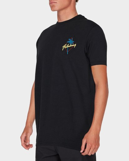 1 PALMA SHORT SLEEVE SURF SHIRT Black 9795007 Billabong